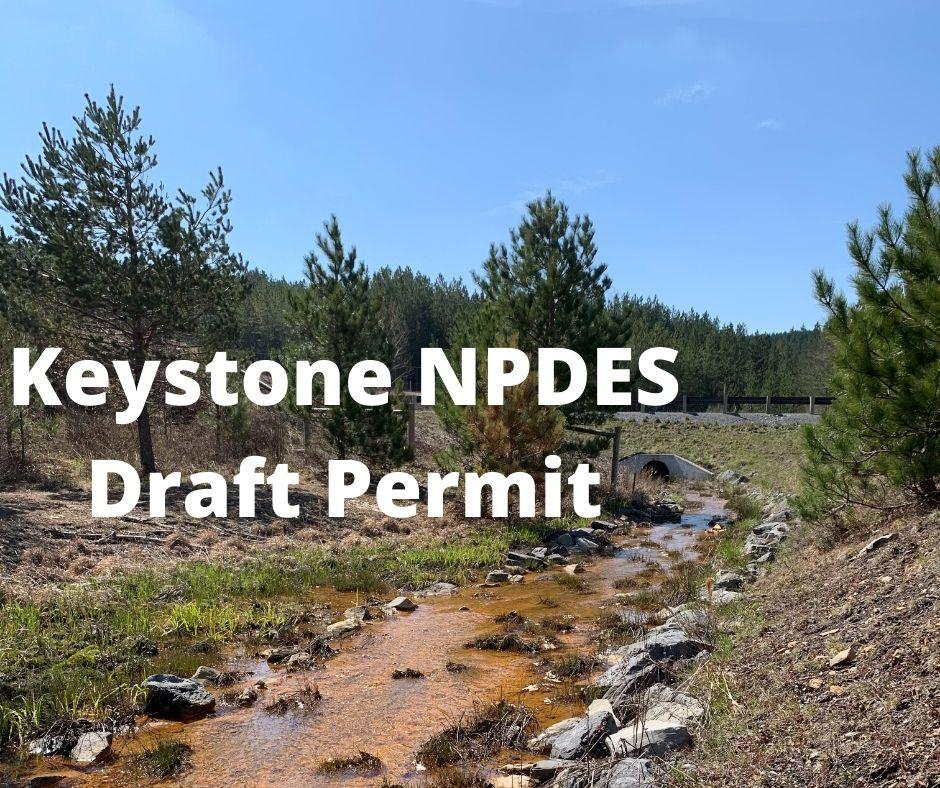 Keystone NPDES Draft Permit