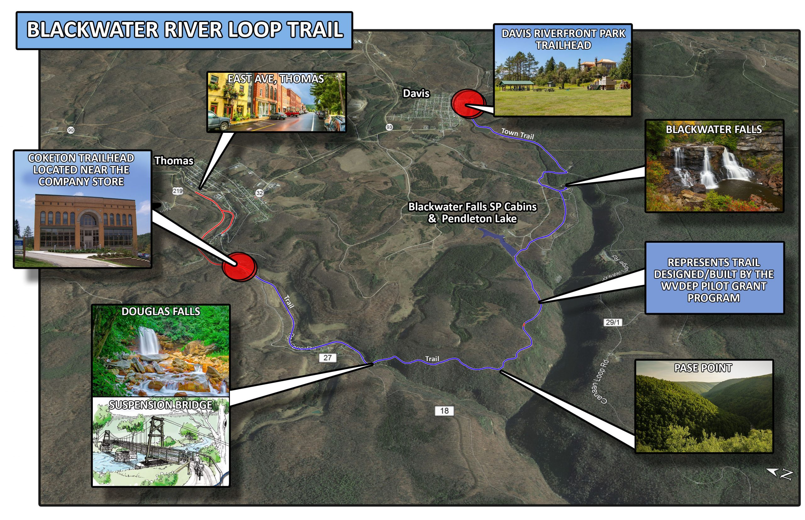 WVDOH – REC TRAILS Map(1)