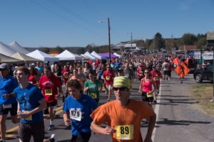 the start of the Run For It charity race
