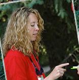 Purdue University researcher Liz Flaherty