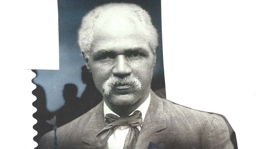 postage stamp of civil rights lawyer J.R. Clifford