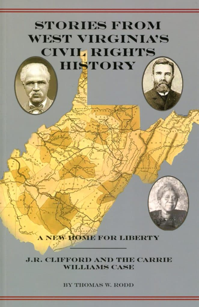 "cover of a book entitled ""Stories from West Virginia's Civil Rights History"""