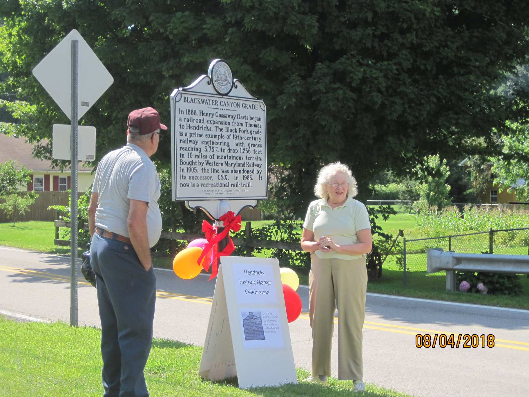 historic marker is unveiled in Hendricks