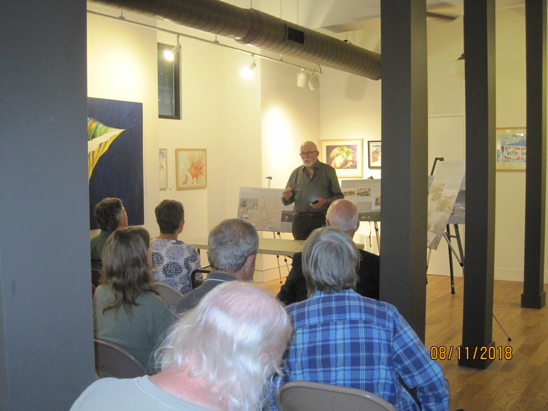 historian John Alexander Williams gives a talk