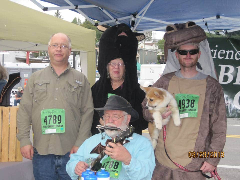 Friends of Blackwater staff at Run For It